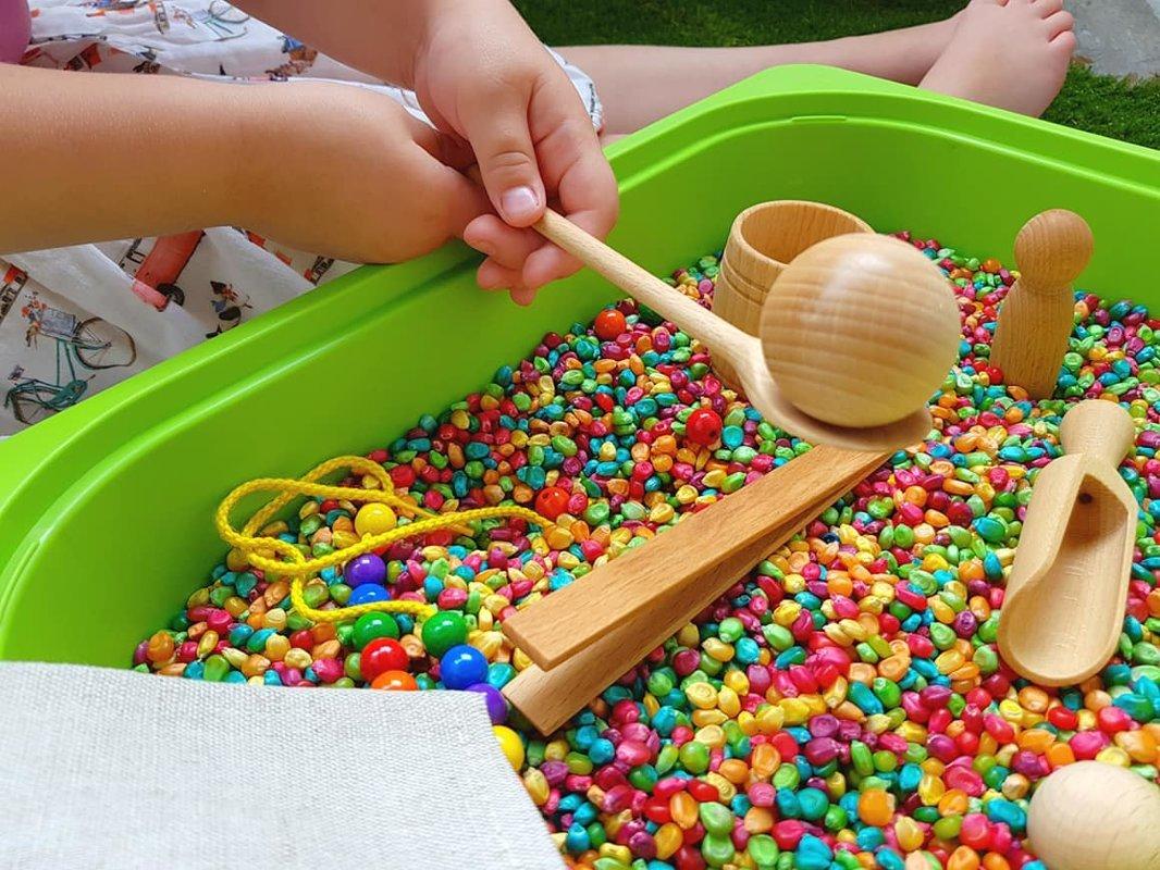 Montessori krāsaino sajūtu komplekts