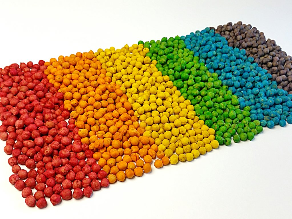 Krāsaini turku zirņi 1,5 kg